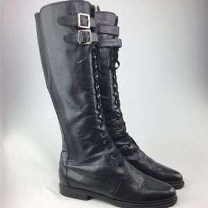 Vtg Obermaterial Leder Made in Italy Riding Boots